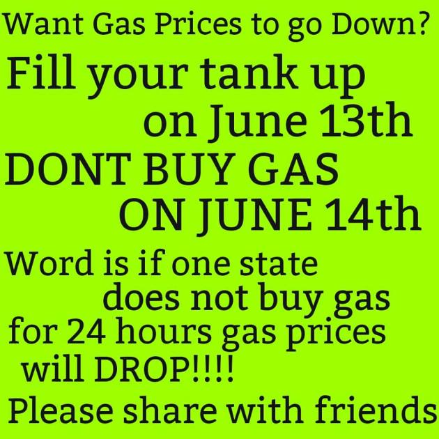 Gas Buycott